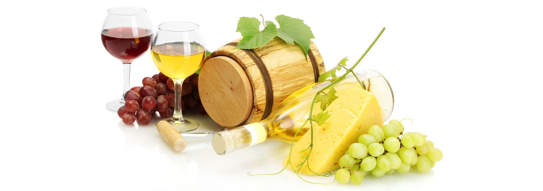 Wine-Grapes-Cheese-Barrel